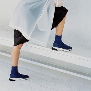 Via Spiga sneaker sock boot
